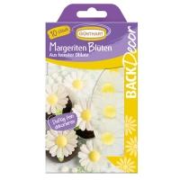 15 pcs. Wafer daisies