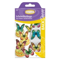 15 pcs Decor plaque butterflies