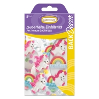 15 pcs Sugar unicorns and rainbows