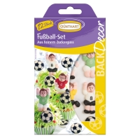 15 pcs Sugar set  football