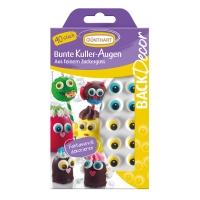 15 pcs Sugar eyes mixed colours