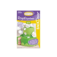 Royal fondant, green