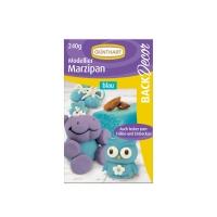 Modelling marzipan, blue