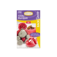 Modelling marzipan, red