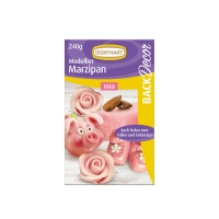 Modelling marzipan, rose