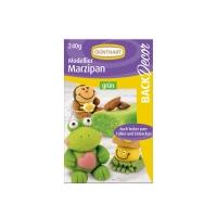Modelling marzipan, green