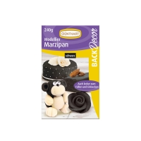 Modelling marzipan, black