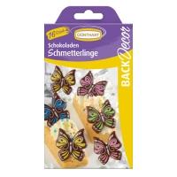 15 Butterflies, dark chocolate