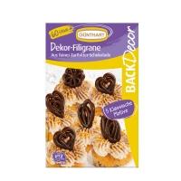 Chocolate filigrees