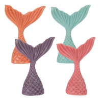 32 pcs Marzipan mermaid tails, asstd.