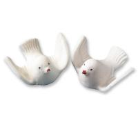 White sugar doves