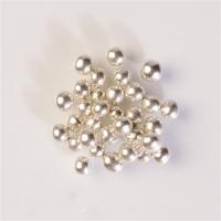 Crunchy pearls, silver