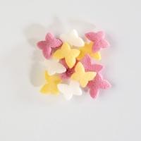 Sugar sprinkles, butterflies