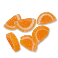 1 pcs Jellied fruit slices  Mandarin-Orange