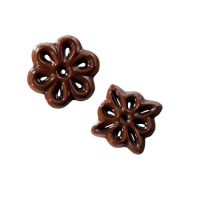 540 pcs Chocolate filigrees, small