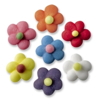 210 pcs Sugar flowers, small