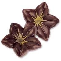76 pcs Chocolate blossom