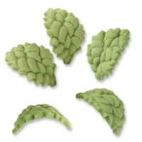 150 pcs Tragacanth sugar leaves, small