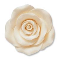 Large roses, white