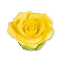 30 pcs Medium roses, yellow