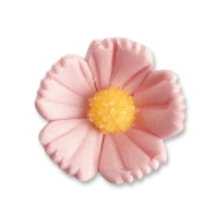 96 pcs Medium flowers, pink