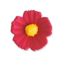 96 pcs Medium flowers, red