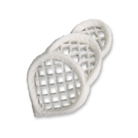 30 pcs Filigrees, white, medium