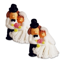 24 pcs Bride and groom