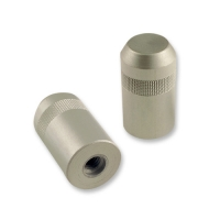 1 pcs Bottom nut silver