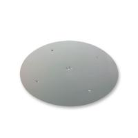 1 pcs Aluminium plates, silver