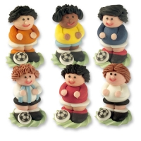 24 pcs Sugar footballers