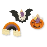 48 Pcs. Sugar unicorn set, Halloween