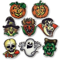 100 pcs Halloween small items