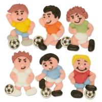Sugar footballers, flat, ass.