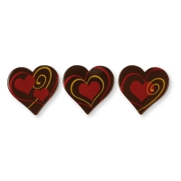 Heart, dark chocolate, ass.