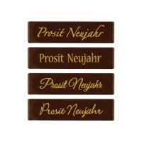 Strip  Prosit Neujahr , dark chocolate