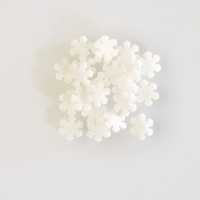 "Sugar-toppings ""Snowflakes"", white"