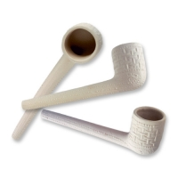 250 pcs Clay pipes