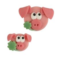 48 pcs Marzipan piglets, asstd.