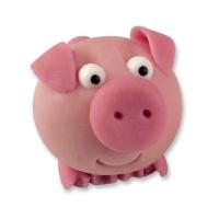 72 pcs Marzipan piglet