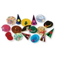 100 pcs Hats, small