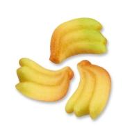 144 pcs Marzipan fruit, bananas