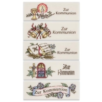 AUSVERKAUFT!Communion plaques