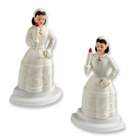 6 pcs Communion girls, plastic