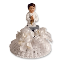 2 pcs Communion boy with top