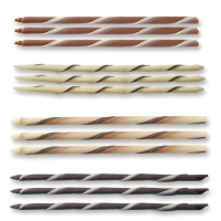 108 pcs Chocolate cigarillos, assorted