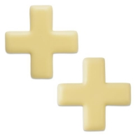 Swiss cross, white chocolate