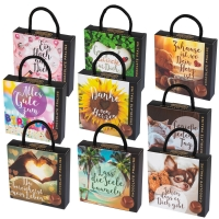 12 pcs Praline box with sayings