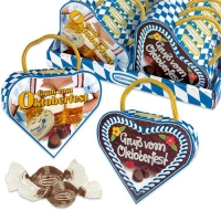 16 pcs Heart filled with Pralines  Oktoberfest , assorted