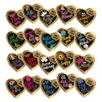 40 pcs HEY YOU! Large praline hearts, (nougat cream filling)